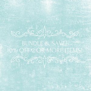 ❄️ Bundle your items to save 10% on your purchase!